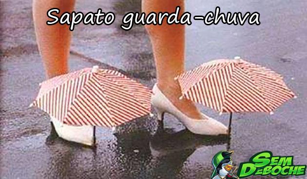 SAPATO GUARDA-CHUVA