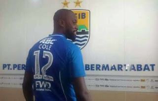 Persib Bandung Resmi Rekrut Eks Striker Chelsea, Carlton Cole