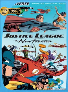 La Liga de la Justicia: la nueva frontera (2008) HD [1080p] Latino [GoogleDrive]
