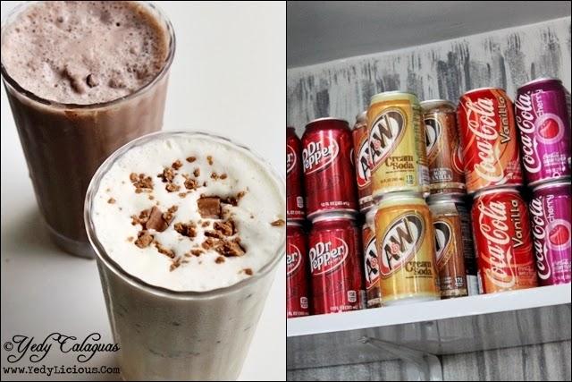 Burger Company's Milkshakes