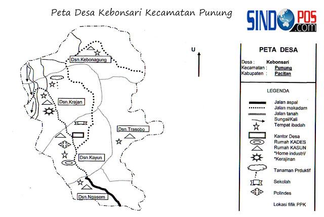Profil Desa Kebonsari Kecamatan Punung Kabupaten Pacitan
