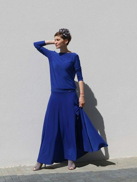 maxi dress, Novamoda streetstyle, novamoda style, novamoda stylizacje, blog po 30-ce, summer style