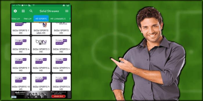 تحميل برنامج solid streamz tv لمشاهدة مباريات كاس العالم 2018 روسيا