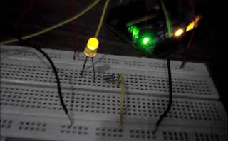 Control of LED brightness using Arduino Matlab