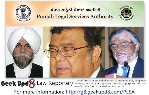 Punjab Legal Services Authority and Free Legal Aid Schemes