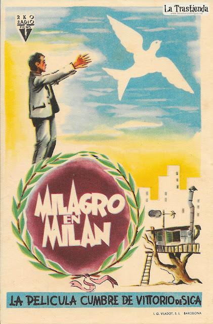 Milagro en Milán - Programa de Cine - Vittorio de Sica