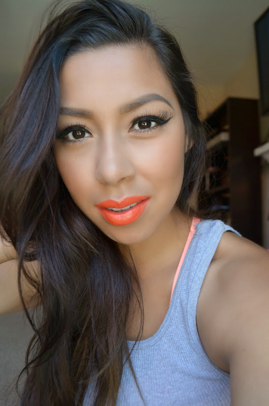 Morange, perfect for Summer! FOTD