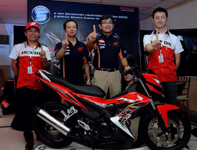 ANew Honda RS150 launched