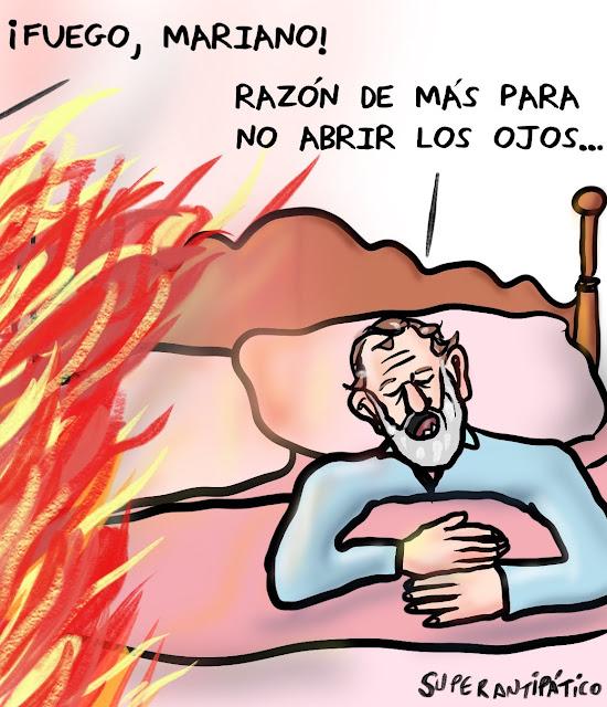 Fuego, Mariano. Razón de más para no abrir los ojos.