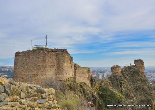 Narikala Fortress remnants