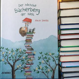 Der größte Bücherberg der Welt Bilderbuch Jumbo Lesefreude