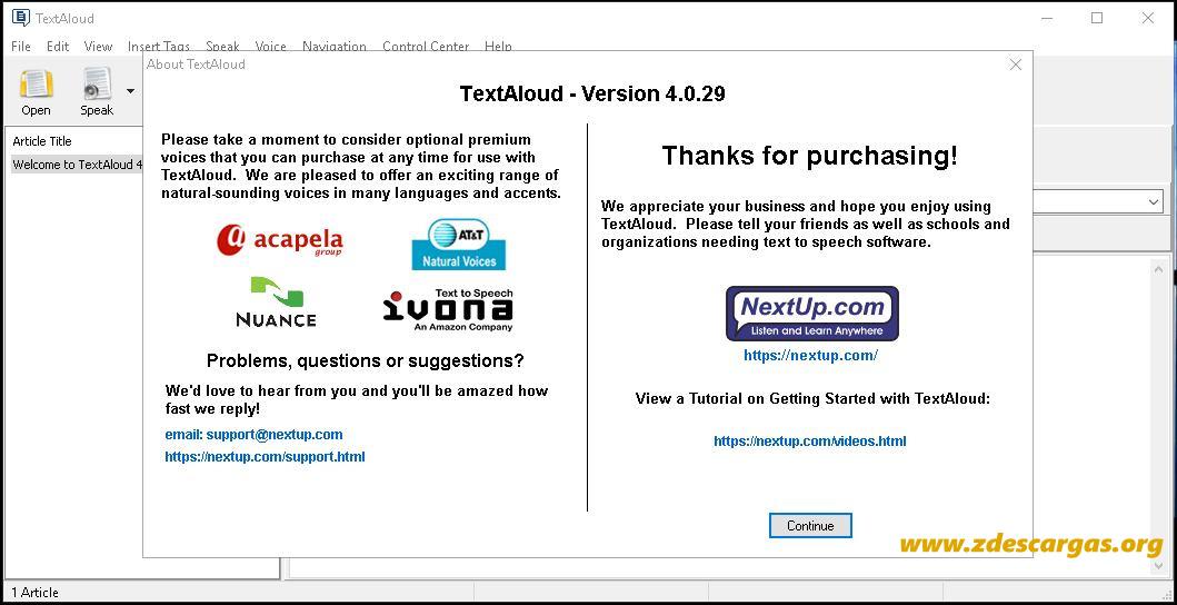 TextAloud 4 Full