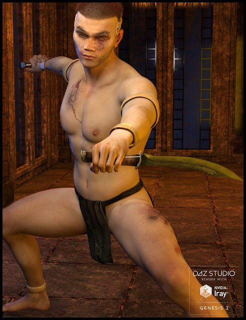 Yakamo the Warrior for Genesis 2 Male