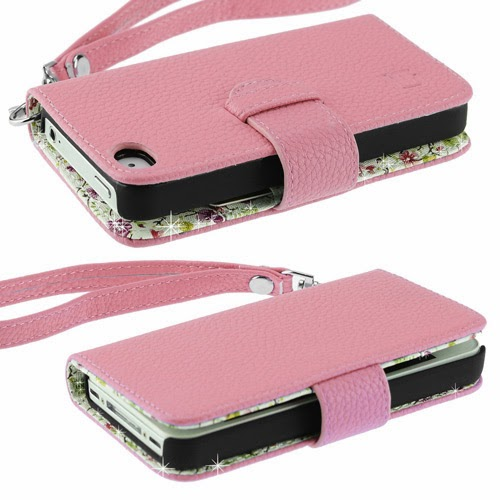 Very stylish iPhone 4/4s wallet case for women, perfect gift for sister, mother, women