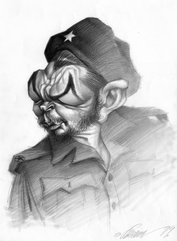 Ernesto Guevara por Joan Vizcarra