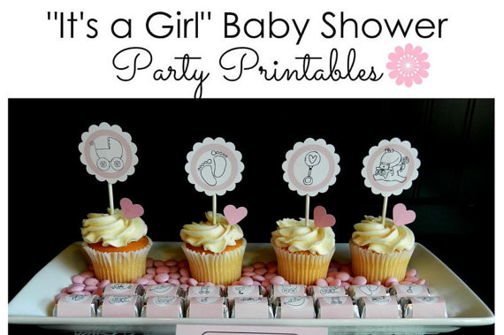 Darling Baby Shower Party Printables