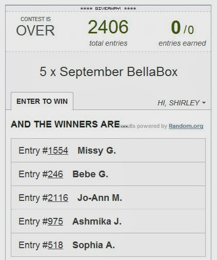 bellabox giveaway beauty box
