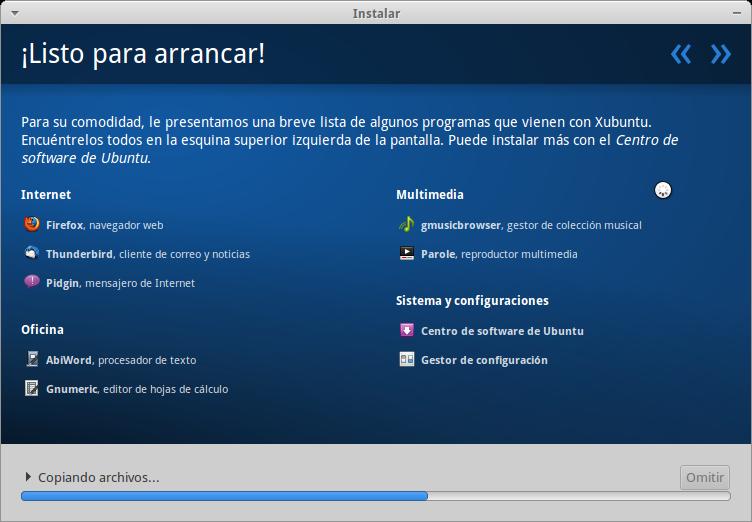 captura 5 Xubuntu