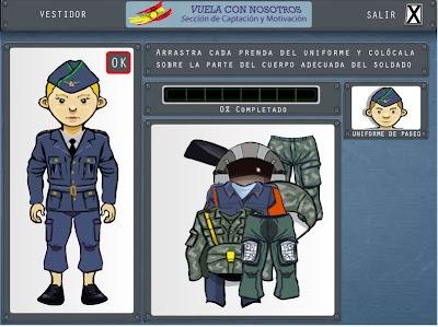 Uniformes para Colorear y Juegos para los + Peques
