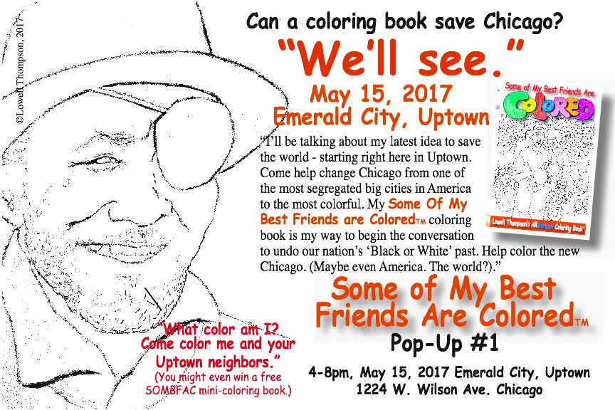 CAN A COLORING BOOK SAVE CHICAGO?