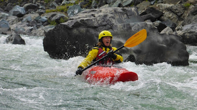 Fun whitewater kayak class
