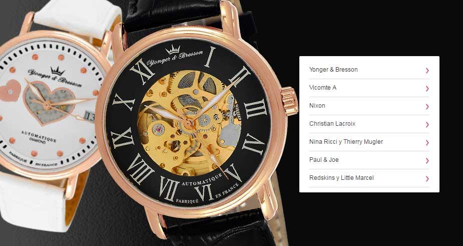 8e4dd06b5072 relojes de mujer todas las marcas