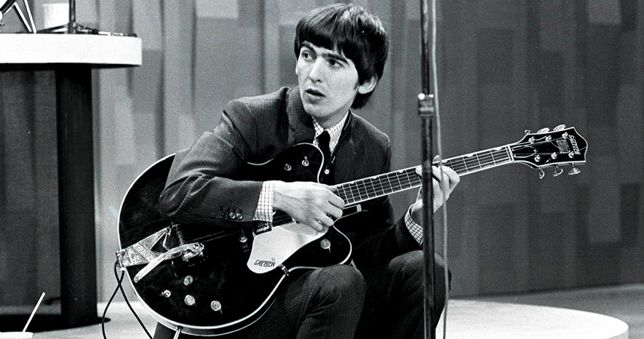 Guitarra de George Harrison Gretsch Country Gentleman
