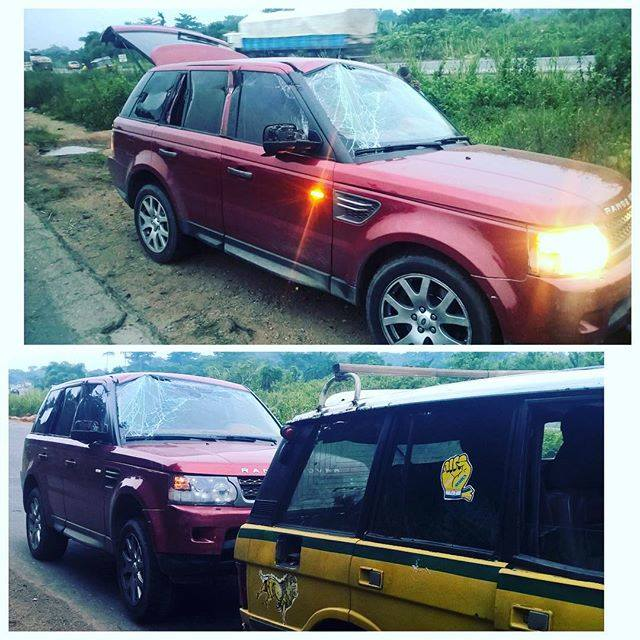 PSQUARE INVOLVED IN A CAR ACCIDENT ALONG LAGOS IBADAN EXPRESS WAY TODAY