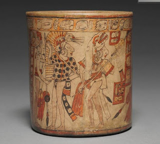 "Cleveland Museum of Art's ""Vessel with Battle Scene"" or ""Maya War Vase,"" Kerr archive number 2352"