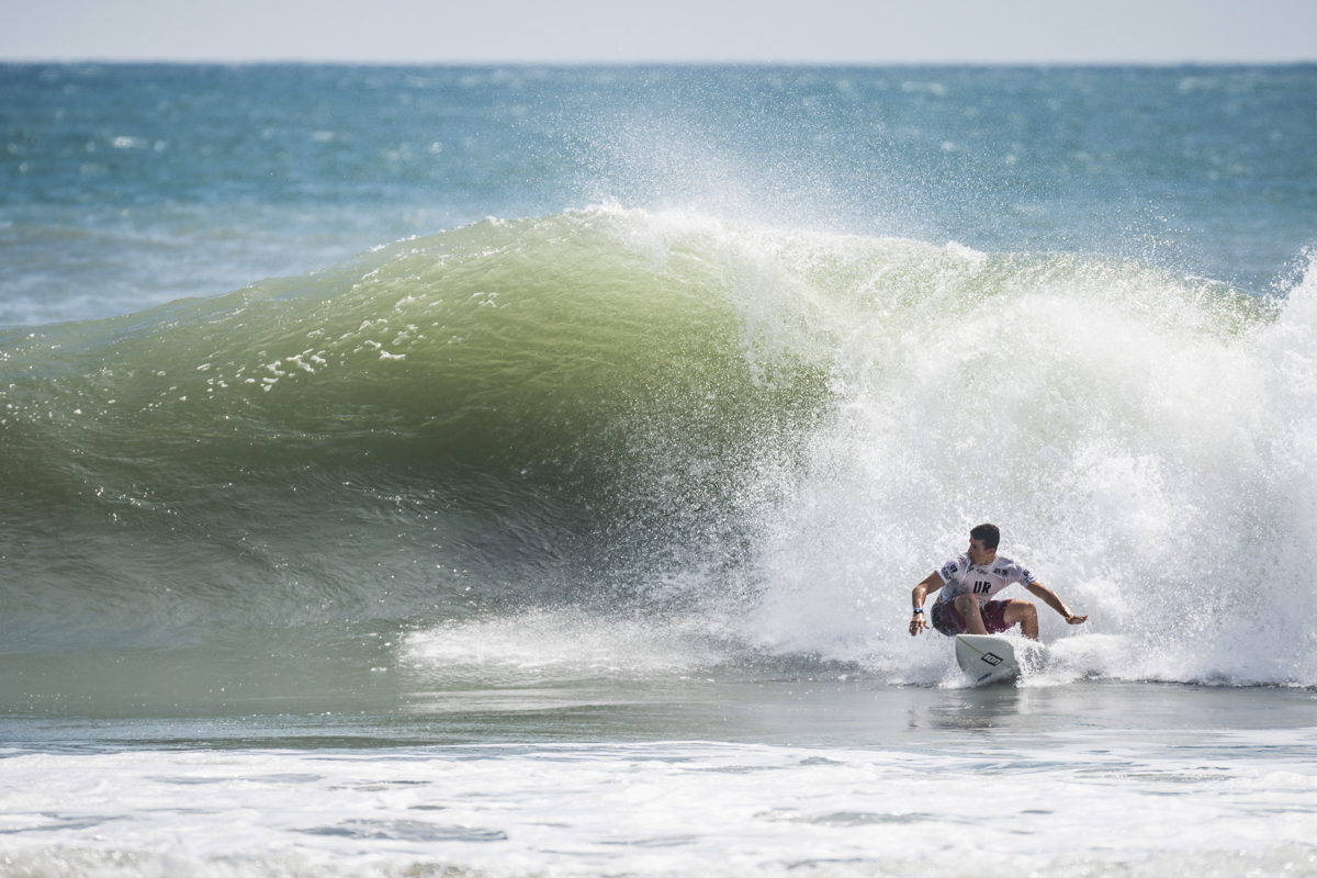 Non-Stop Action in Tahara World s Best National Teams Impress at 2018 UR ISA World Surfing Games