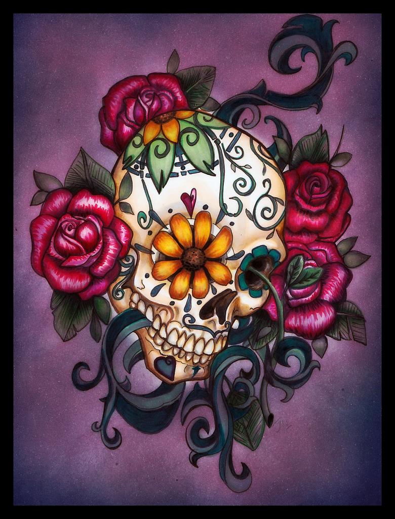 Tattoos on Pinterest | Sugar Skull Tattoos, Sugar Skull ...