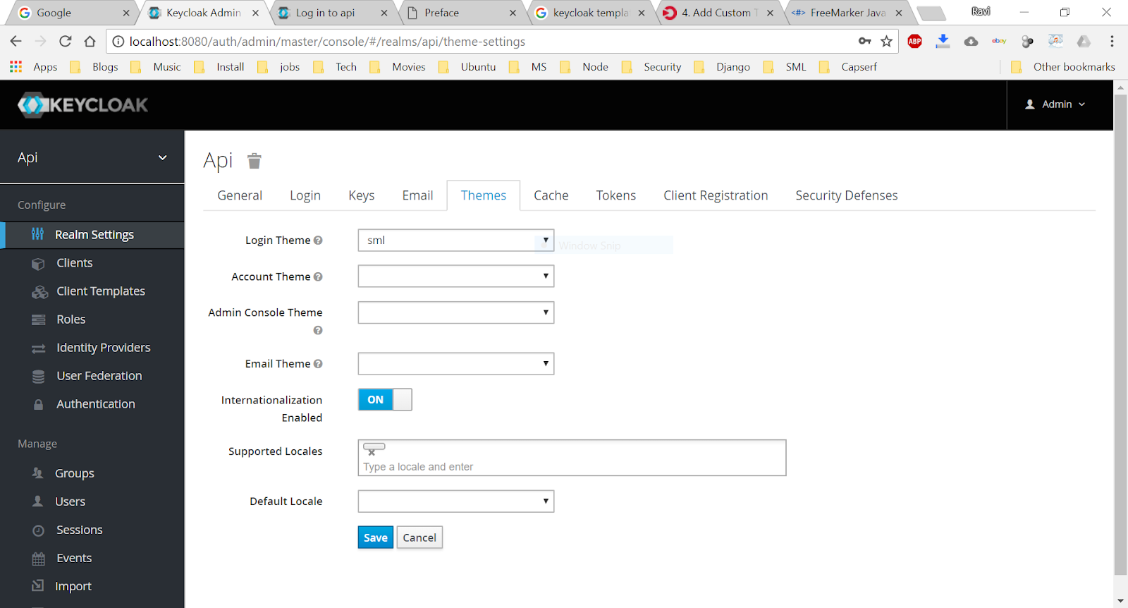 Customizing Keycloak themes   Java Foundation