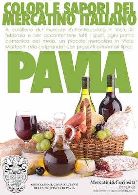 Colori e Sapori del Mercatino Italiano  6 gennaio Pavia