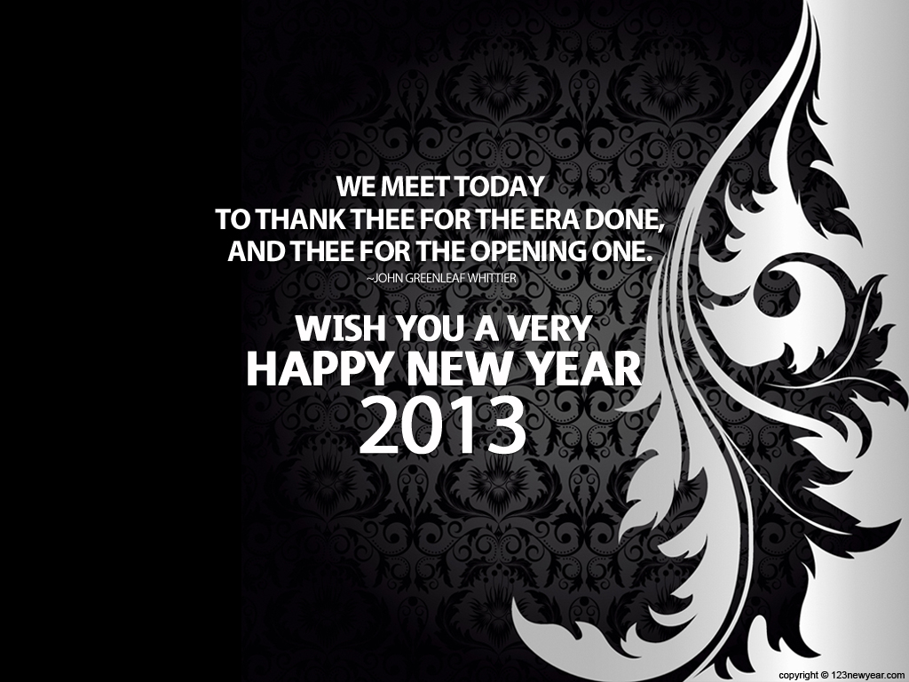 Download Free Wallpapers: Happy New Year 2013 Quotes
