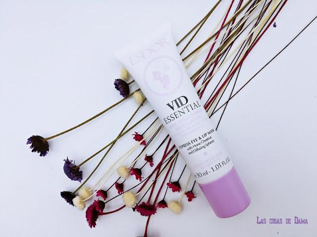 Mascarillas Vid Essential Esdor multimasking polifenoles uva beauty belleza cuidado facial skincare dermocosmetica