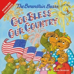 The Berenstain Bears God Bless Our Country cover