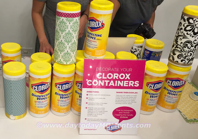 DIY Clorox Container