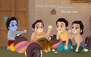 shri krishna janmashtami wishes photo