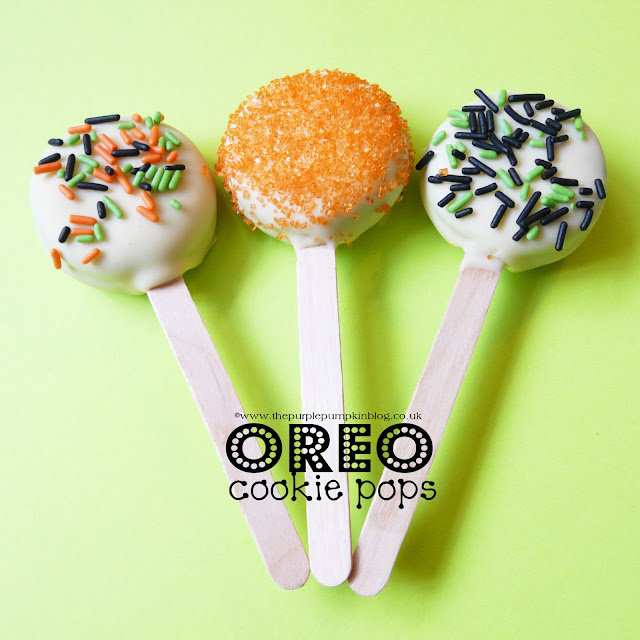 Oreo Cookie Pops | The Purple Pumpkin Blog