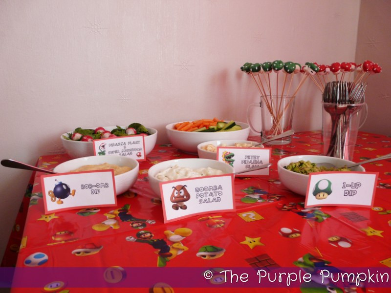Nintendo Themed Birthday Party The Purple Pumpkin Blog