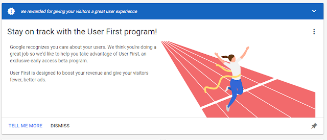first user program google adsense