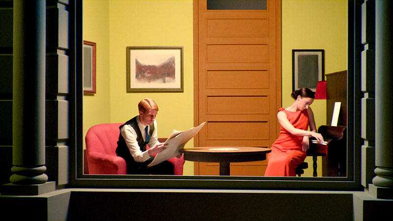 Edward Hopper Paintings Brought to Life in a Film by Gustav