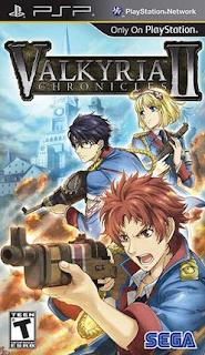 Valkyria Chronicles II PSP With DLC ISO Download