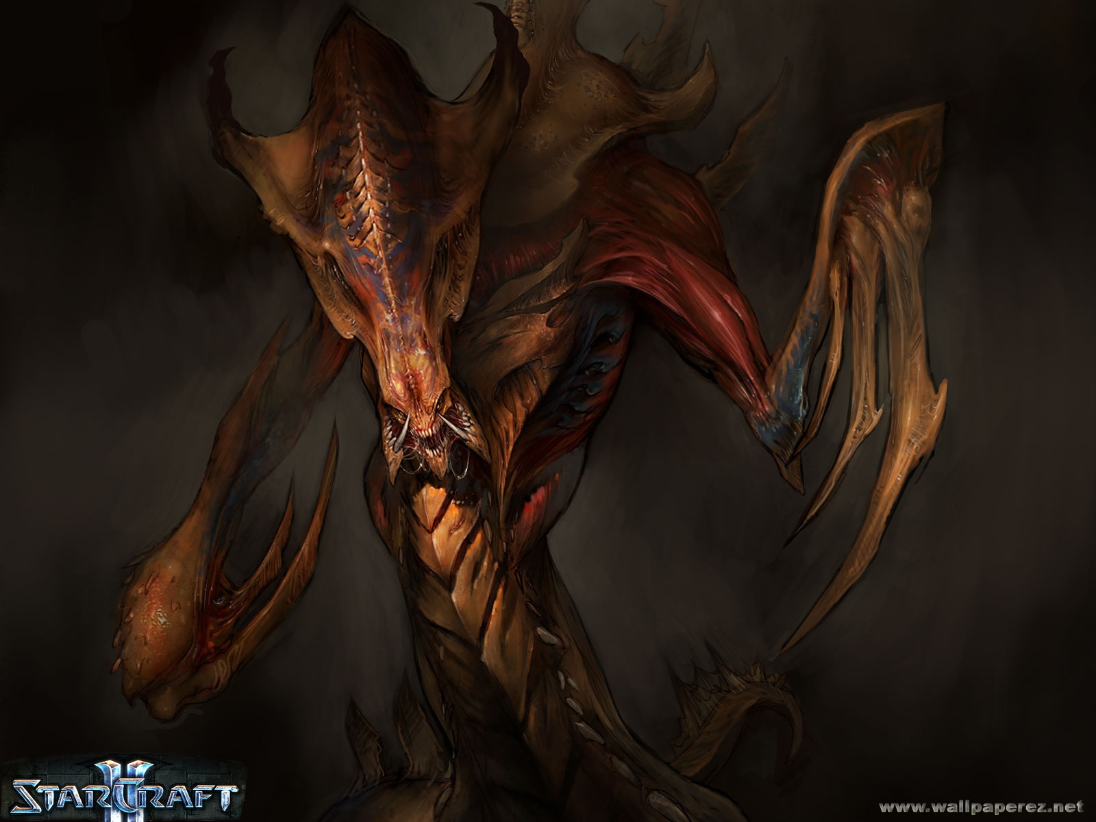 StarCraft 2 zerg lurker wallpaper 03 Hd Wallpapers Starcraft 2