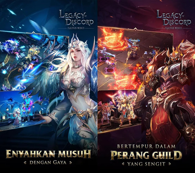 Legacy of Discord-FuriousWings v.1.2.5 mod apk,Legacy of Discord full hack,FuriousWings hack mod, Nama:TLegacy of Discord-FuriousWings, Pengembang : GTarcade, Update : 3 Maret 2017, Android: 4.3+, Info : Google Play,Cheat Legacy of Discord-FuriousWings terbaru
