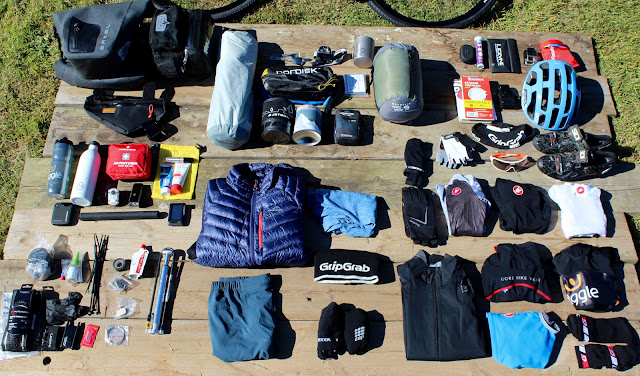 full bike packing kit list