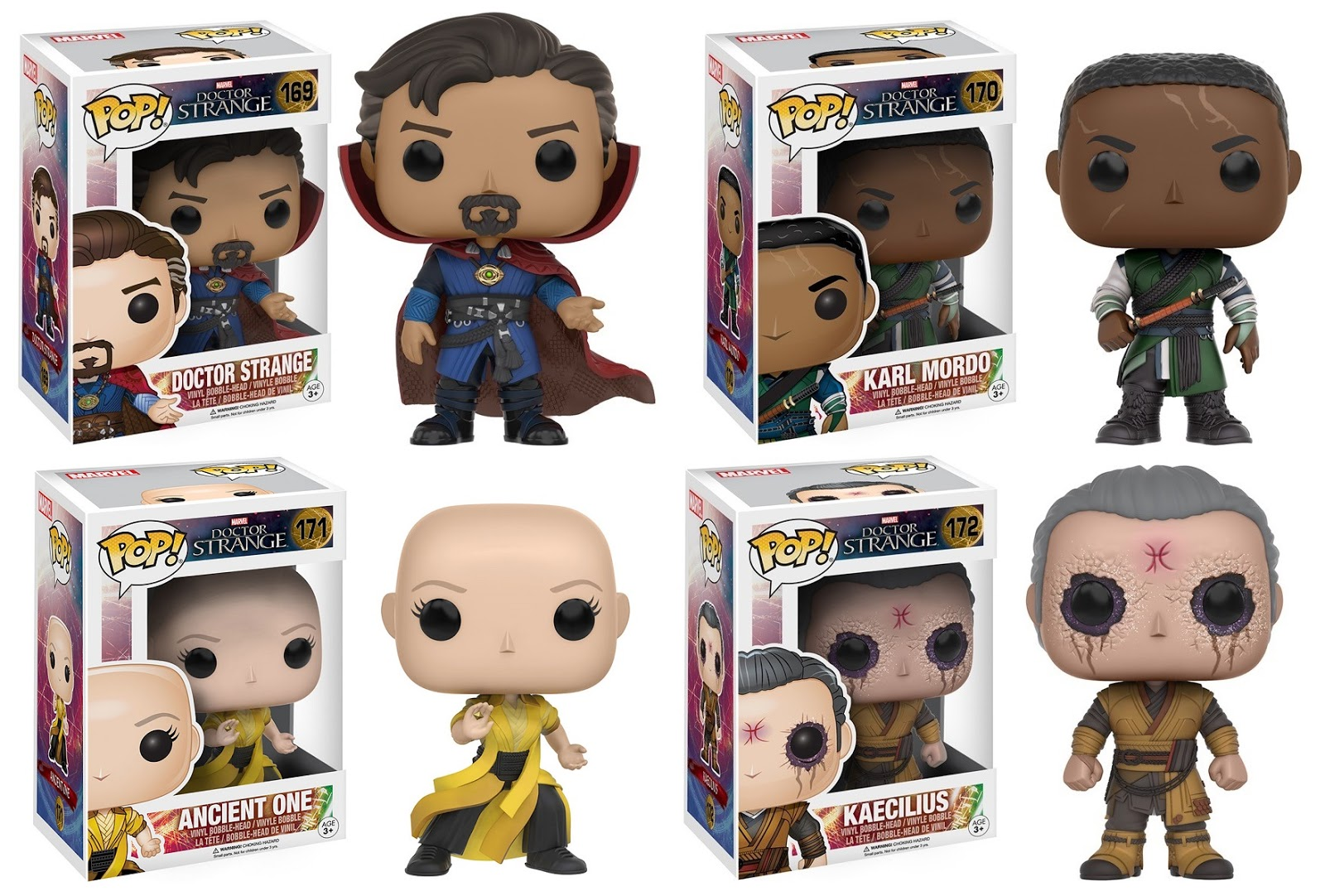 d45cb9409aa The Blot Says...  Doctor Strange Movie Pop! Marvel Vinyl Figures by ...