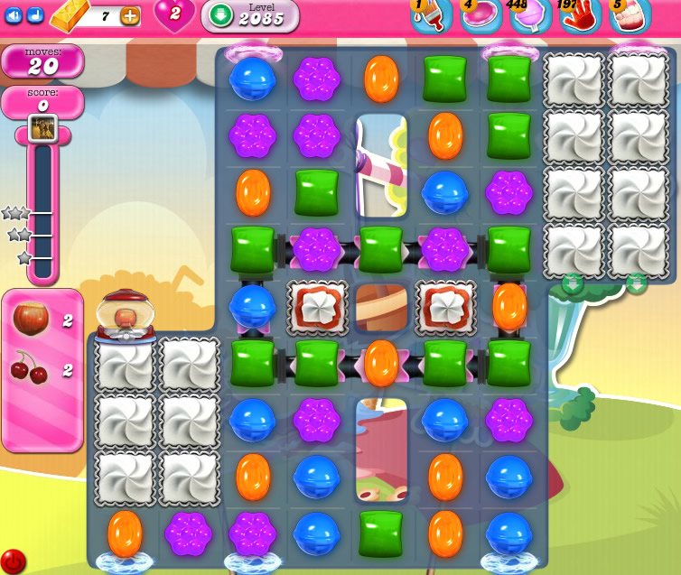 Candy Crush Saga level 2085