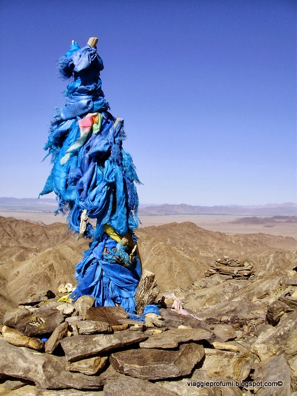 Mongolia, altare sciamanico