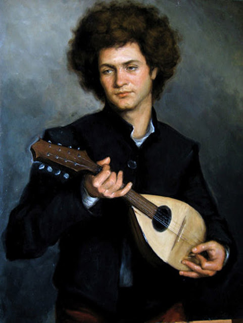 Matthew James Collins, Mandoline player,  International Art Gallery